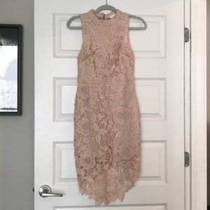 ASTR The Label Samantha Dress in Light Pink - M